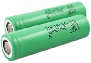 samsung inr18650 25r battery