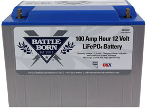 battle born 100 ah 12volt lithium