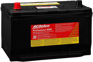 acdelco 65agmhr battery