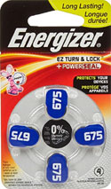 energizer 675 battery