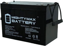 mighty max ml100 12