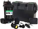 sump pump backup battery