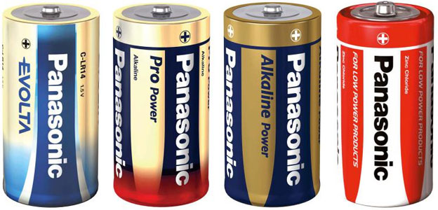 panasonic c batteries